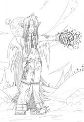 Dragconian Magic by RizyuKaizen