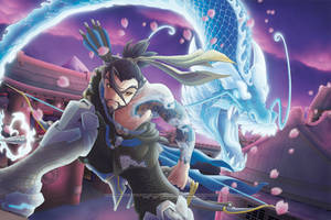 Overwatch -Dragon of Hanamura- by RizyuKaizen