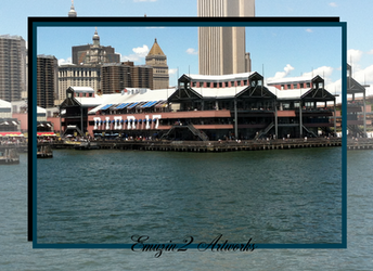 Pier 17 Hudson View by Emuzin2