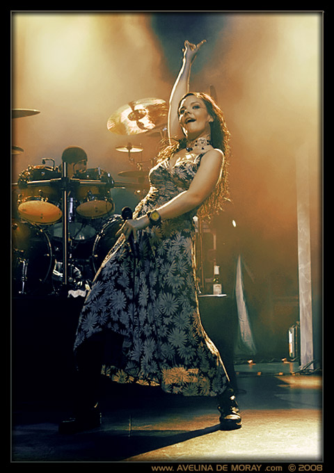 Anette from NIGHTWISH by AvelinaDeMoray