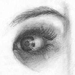Eye Drawing by Llama-Lloon