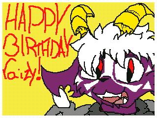 Happy Birthday raizy! by ninten111