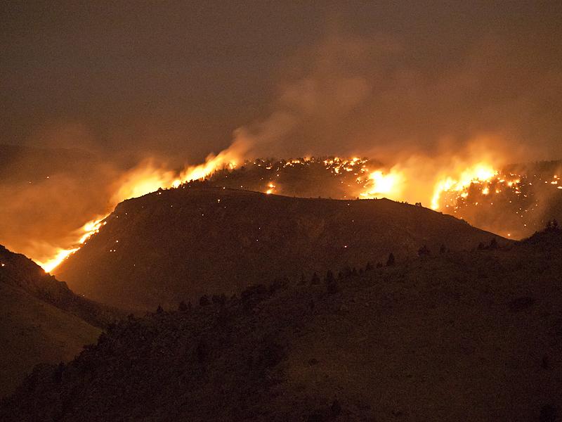 Indian Gulch Fire by PaulGana