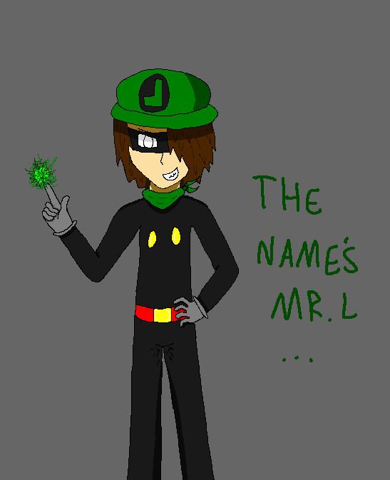 Mr. L: Manga Style by CrazyBatLady