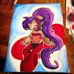 Shantae Watercolor