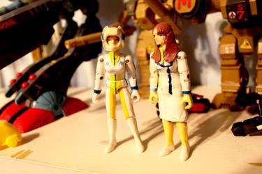 Robotech custom figures - Lisa Hayes by OttselSpy24