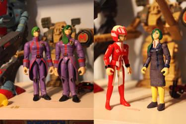Robotech Custom Figures: Miriya by OttselSpy24