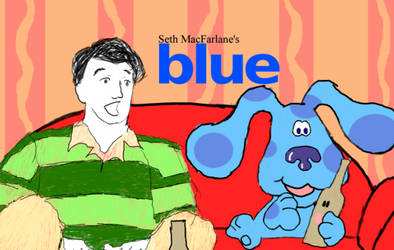 Seth McFarlane's 'blue' by OttselSpy24