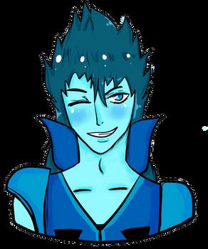 Blue boi-- Commission