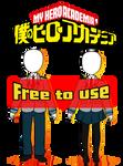 [ F2U ] BNHA Uniform Bases - Male and Female