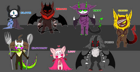 [CLOSED] 7 Deadly Sins lil demons! OTA