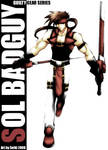 Sol Badguy from Guilty Gear