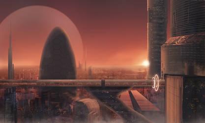 Sci-fi cliche by arskuma