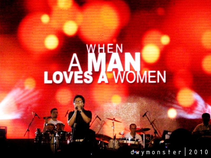 when a man loves a women