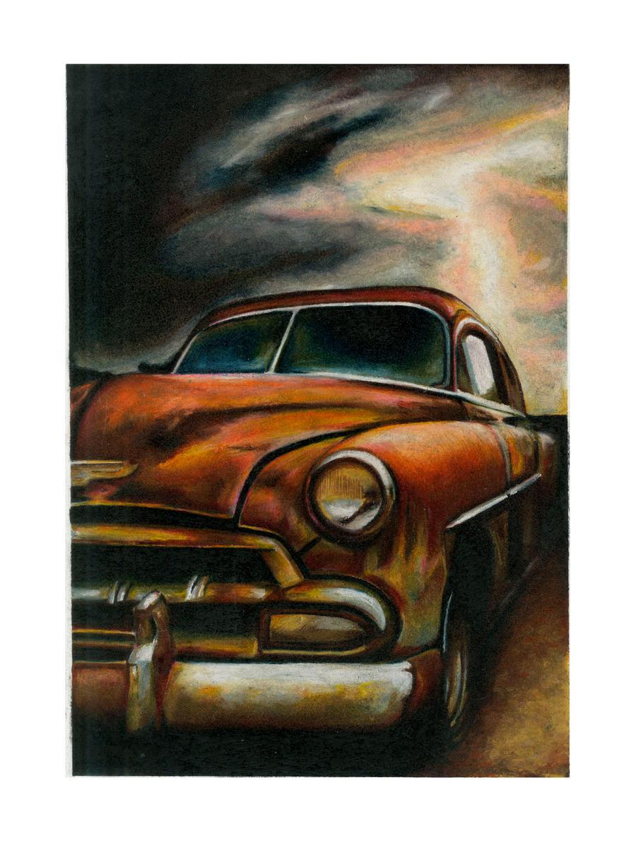 Classic Car by Adrianna-Grezak