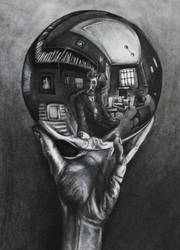 A Homage to MC Escher by Adrianna-Grezak
