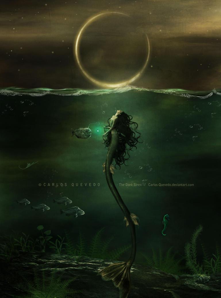 The Dark Siren by Carlos-Quevedo