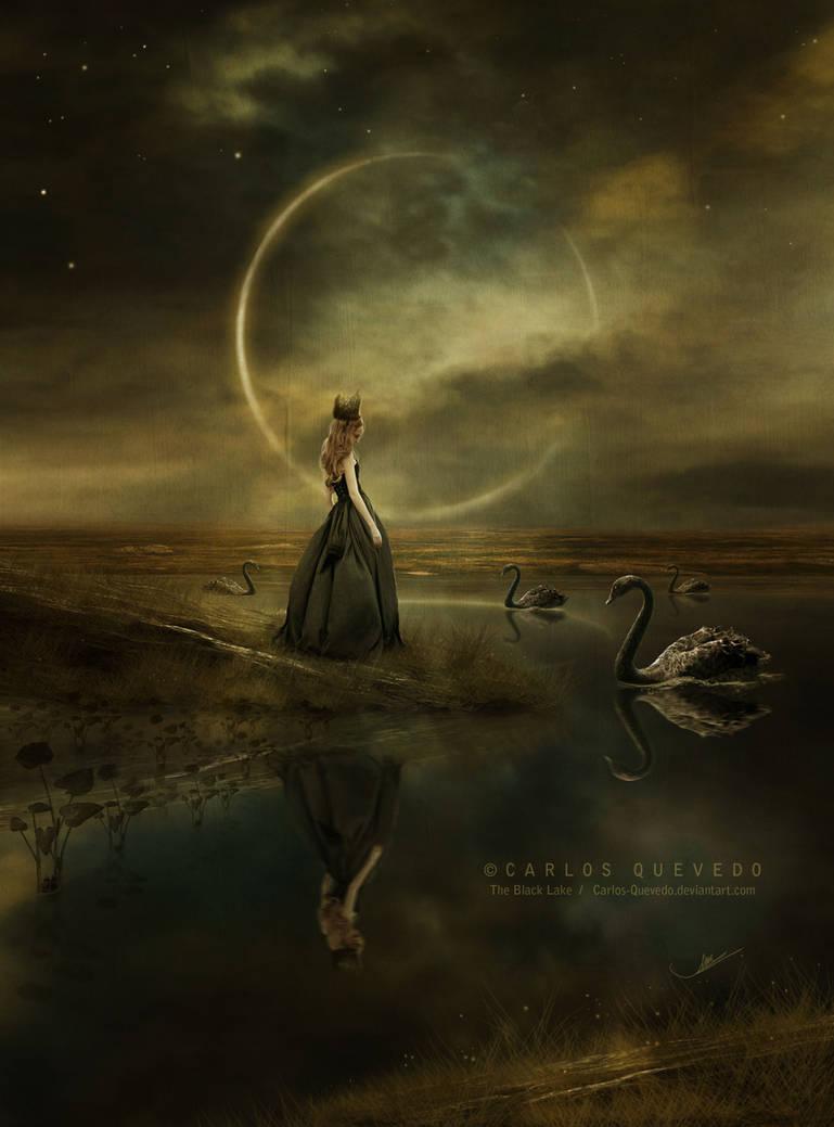 The Black Lake by Carlos-Quevedo