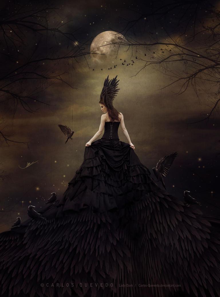 Lady Dark by Carlos-Quevedo