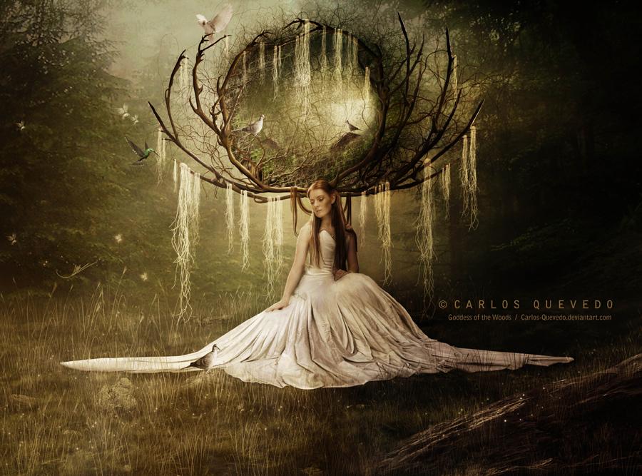 Goddess of the Woods