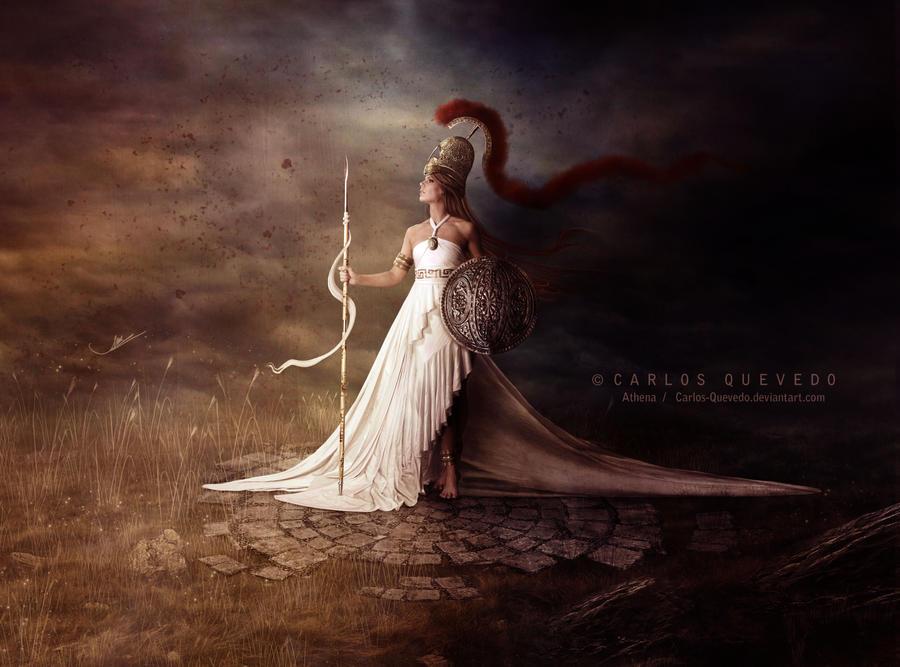 Athena by Carlos-Quevedo