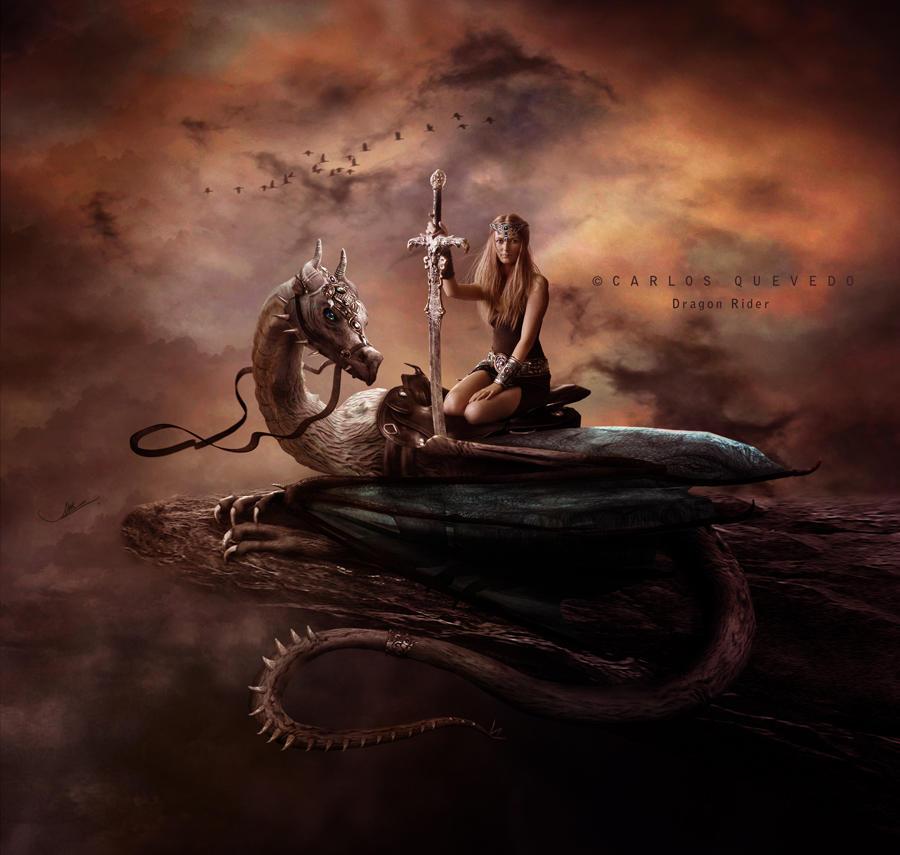 Dragon Rider by Carlos-Quevedo