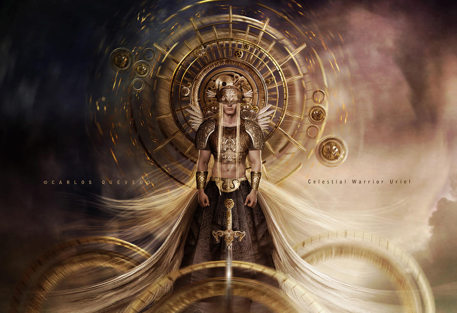 Celestial Warrior Uriel By Carlos Quevedo On Deviantart