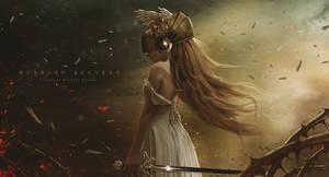 Celestial Warrior Aurora by Carlos-Quevedo