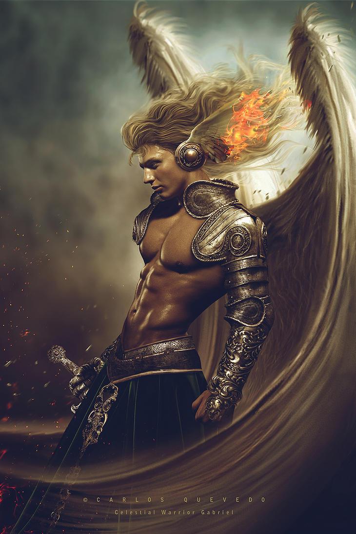 Celestial Warrior Gabriel by Carlos-Quevedo