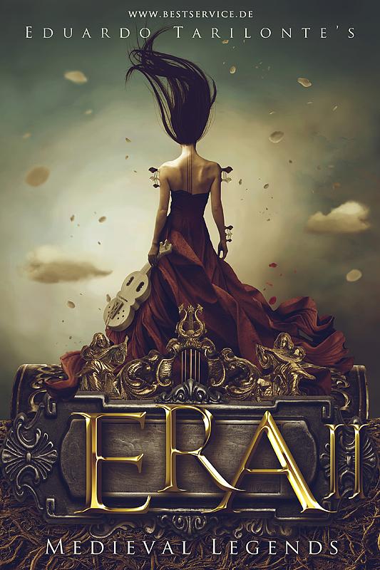 Deviantart Fantasy Book Cover : Era ii cover by carlos quevedo on deviantart