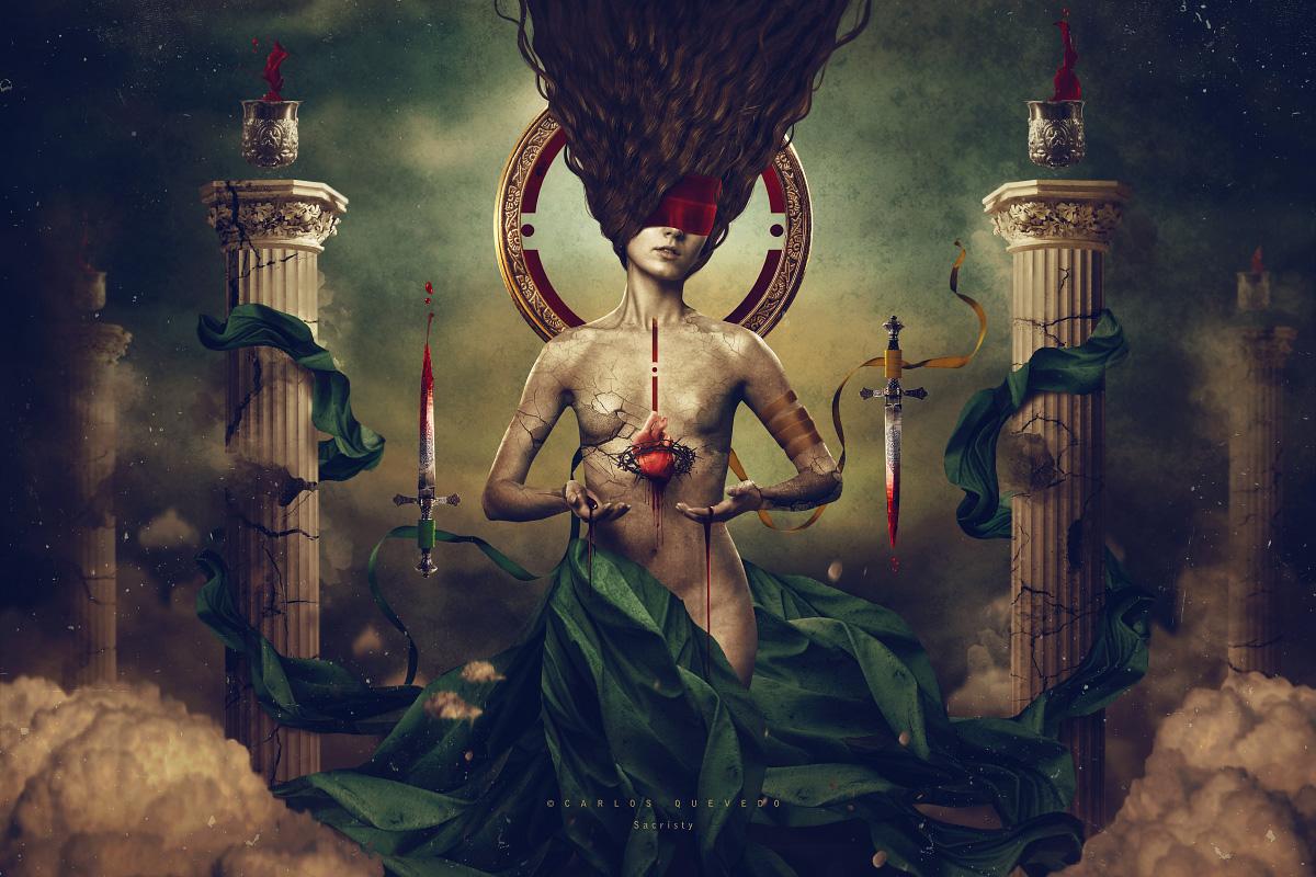 Sacristy by Carlos-Quevedo