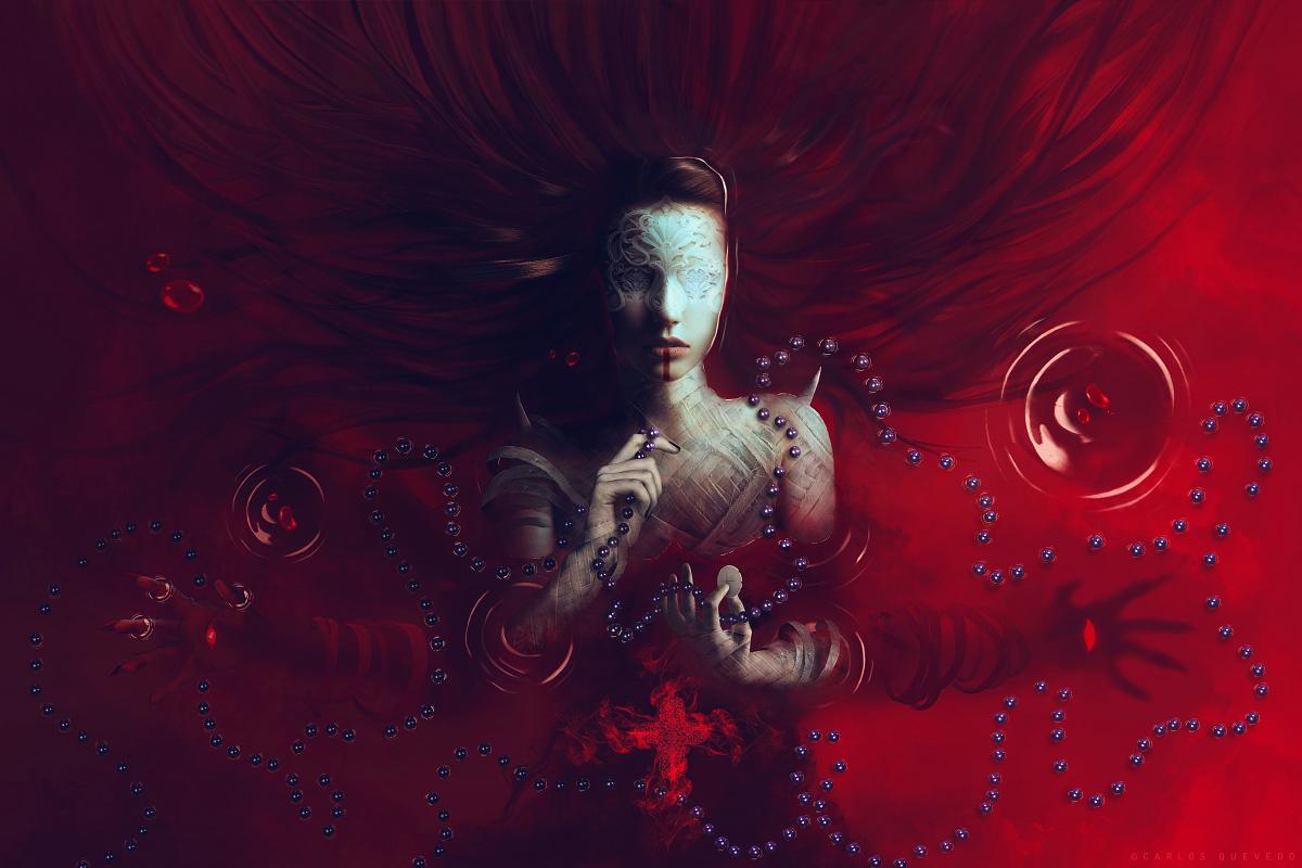 Red Communion by Carlos-Quevedo