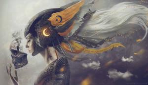 Angelus Mortis by Carlos-Quevedo