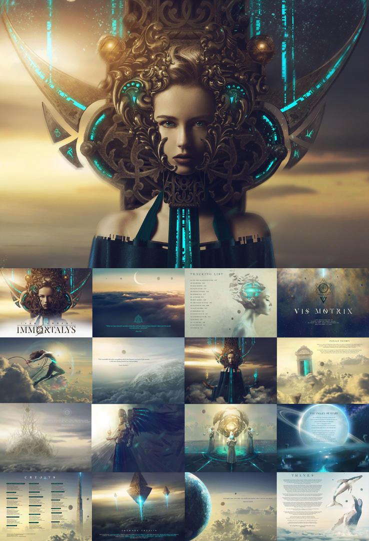 Immortalys - ALBUM ARTWORK by Carlos-Quevedo