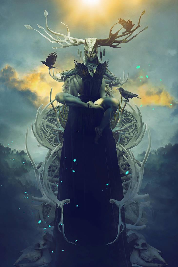 Freyja by Carlos-Quevedo