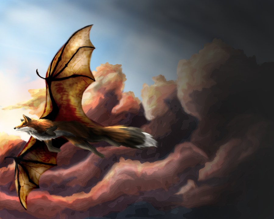 Flying fox by shorty-antics-27
