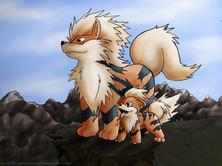 1000 images about growlithe on pinterest - Arcanine pics ...