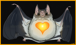 Rollie Pollie Vampire Bat
