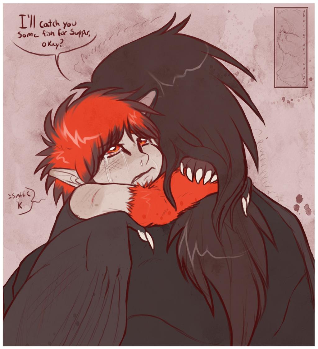 Calming Hug by shorty-antics-27