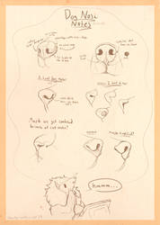 Canine Noses Thoughts by shorty-antics-27
