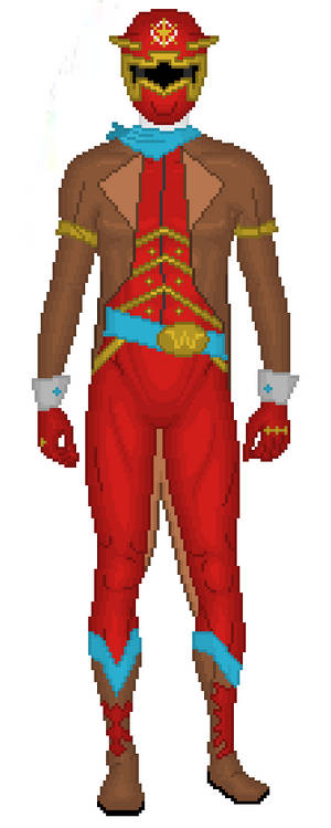 Red Western Ranger