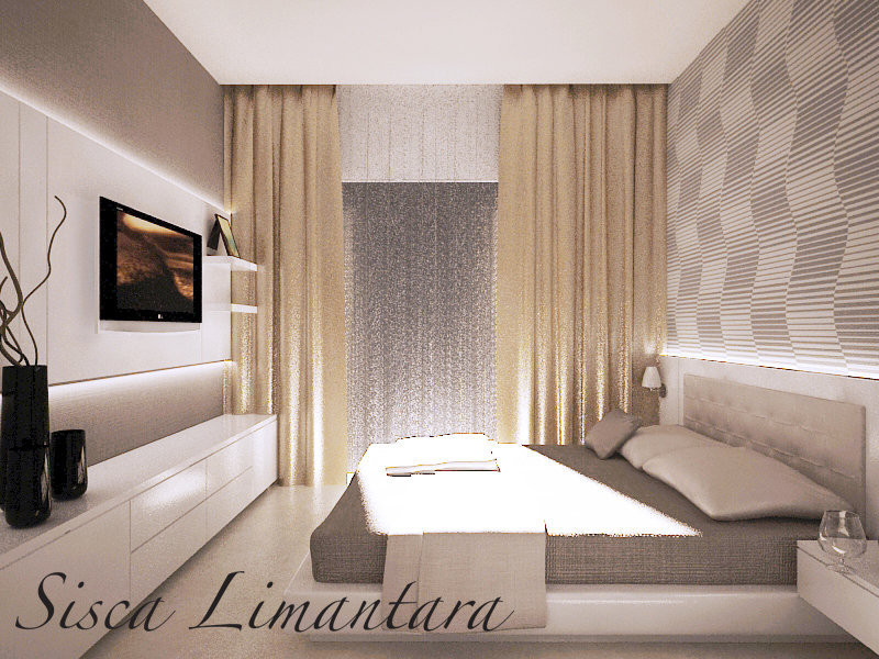 Minimalist Master Bedroom By Siscalimantara On Deviantart