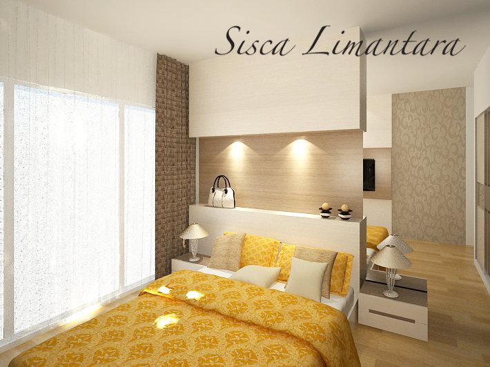 Master Bedroom Apartment By Siscalimantara On Deviantart