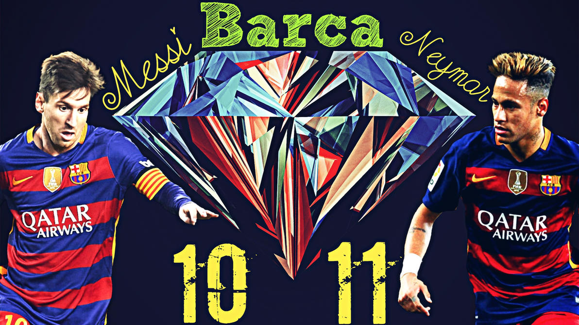 Messi AND Neymar,King AND Prince by hossein10leo10