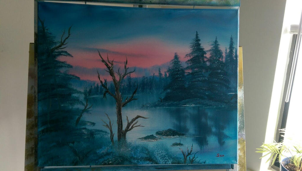 Peaceful Winter by DarkIllusionsX