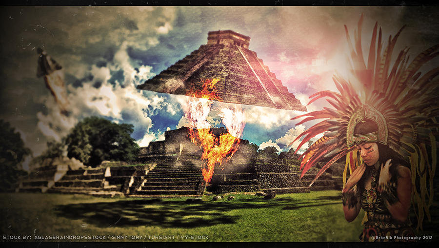Mayan Farewell by BrknRib