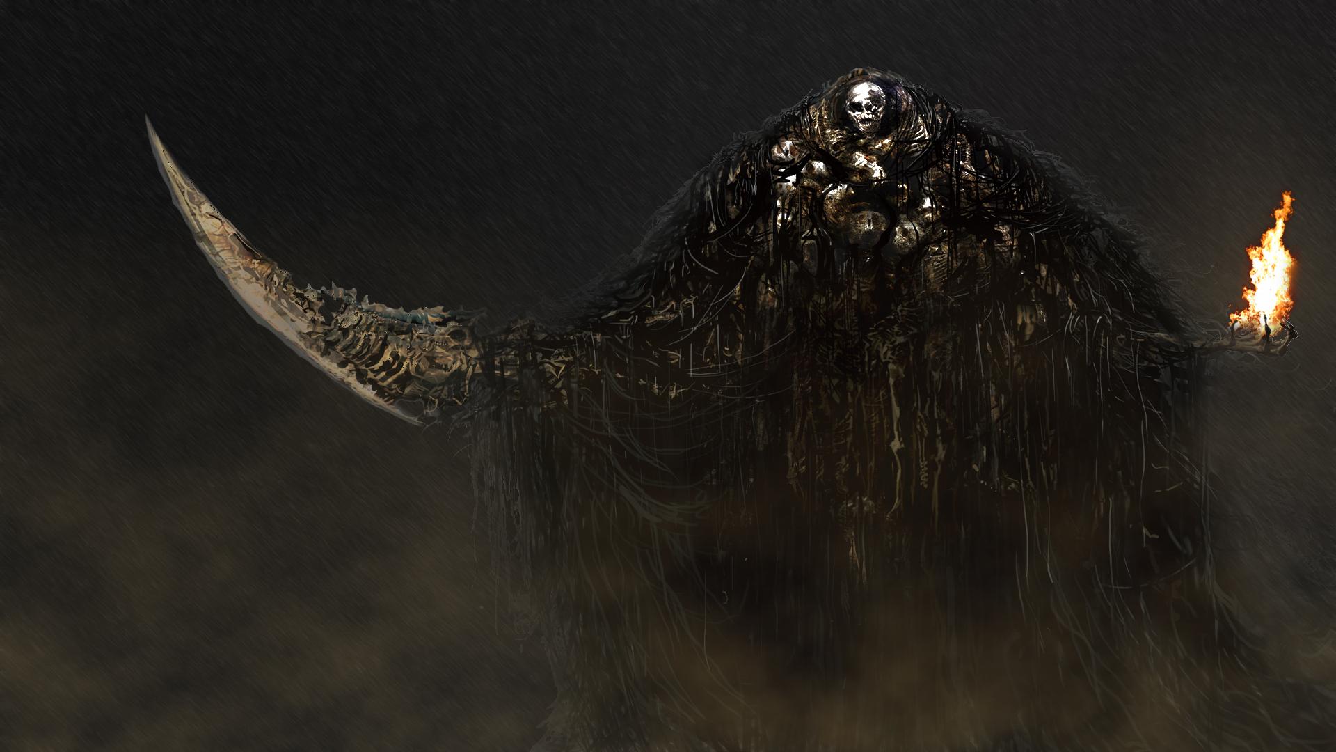 La voz de la muerte [campaña] - Página 3 Gravelord_nito_by_manbearpagan-d6c7g75