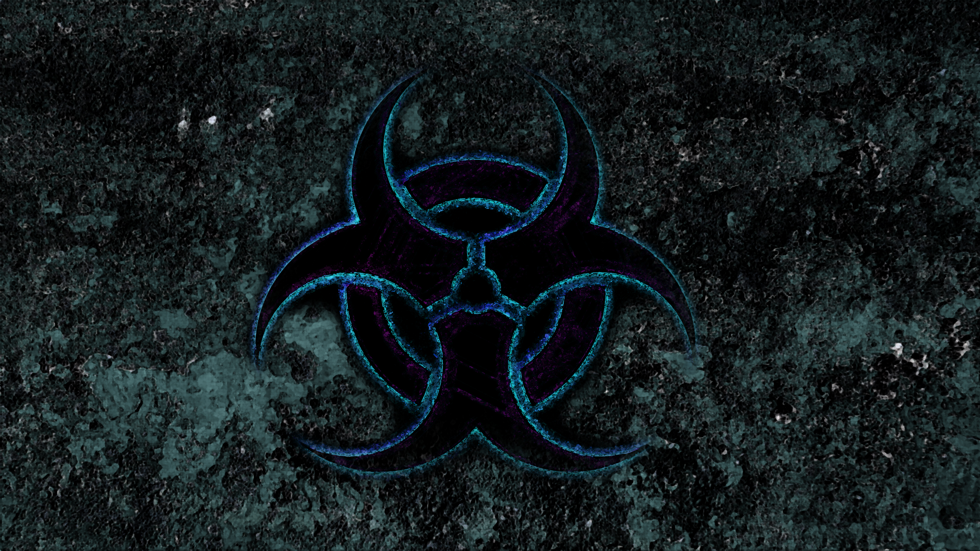 Biohazard blue by manbearpagan