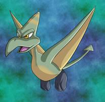 Banjo-Tooie Soarasaurus by yoshitaka
