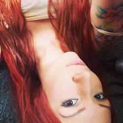 Selfie showing top of left sleeve by DinkyPrincessa